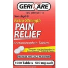 Geri-Care Extra Strength Acetaminophen - 1000 Tablets