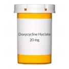 Doxycycline Hyclate 20 mg Tablets
