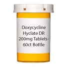 Doxycycline Hyclate DR 200mg Tablets- 60ct Bottle