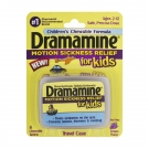 Dramamine Motion Sickness Relief for Kids Chewable Tablets, Grape- 8ct