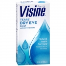 Visine Tears Lubricant Eye Drops- 0.5oz