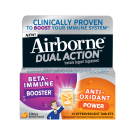 Airborne Dual Action Citrus Effervescent Tablets - 10ct