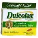Dulcolax 5mg Tablet - 10ct