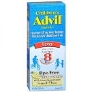 Children's Advil Fever Reducer and Pain Reliever, Dye- Free, White Grape flavor- 4oz
