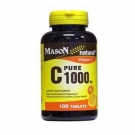 Mason Natural Vitamin C 1000 Mg Pure Ascorbic Acid Tablets - 100ct