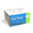 EasyTouch Insulin Syringe 29 Gauge, .5cc, 1/2
