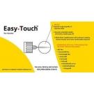 EasyTouch Pen Needle 31 Gauge, 1/4