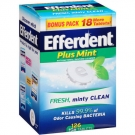 Efferdent Tablets Plus Mint - 126ct