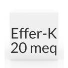 Effer-K 20 MEQ Tablets - Unflavored
