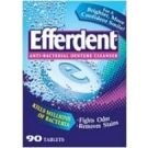 Efferdent Denture Cleanser - 90 Tablets