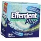 Efferdent Plus Denture Cleanser Minty Fresh - 36 Tablets