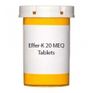 Effer-K 20 MEQ Tablets (Orange)