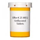 Effer-K 25 MEQ Unflavored Tablets