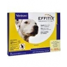 Effitix Topical Solution for Dogs (Up to 22lbs)- 3 Month Supply