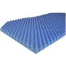 Eggcrate Bed Pad 2 Inch x 33 Inch x 72 Inch