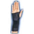 Elastic Stabilizing Right Wrist Brace - Large