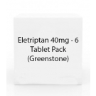Eletriptan 40mg - 6 Tablet Pack (Greenstone)