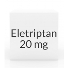 Eletriptan 20mg - 6 Tablet Pack