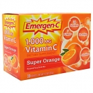 Emergen-C 1000 mg Vitamin C Dietary Supplement Fizzy Drink Mix Orange - 30ct