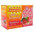 Emergen-C 1000 mg Vitamin C Dietary Supplement Fizzy Drink Mix Raspberry - 30ct