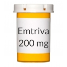 Emtriva 200mg Capsules - 30 Count Bottle