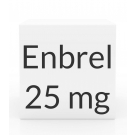 Enbrel 25mg/0.5ml Prefilled Syringe - Box of 4/0.51ml Syringes