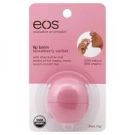 eos Lip Balm, Strawberry Sorbet- 1ct