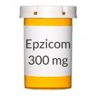 Epzicom 600-300mg Tablets - 30 Count Bottle