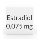 Estradiol 0.075mg (Vivelle-Dot) Patch (8 Patch Pack) - Twice Weekly