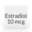 Estradiol 10mcg Vaginal Suppositories- 8ct