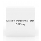Estradiol Transdermal Patch 0.025mg/Day (Pack of 4) - Once Weekly