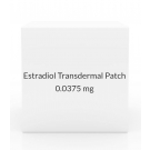 Estradiol Transdermal Patch 0.0375mg/Day (Pack of 4) Once Weekly