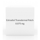 Estradiol Transdermal Patch 0.075mg/Day (Pack of 4) - Once Weekly