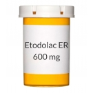 Etodolac ER 600mg Tablets
