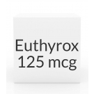 Euthyrox 125mcg Unit Dose Tablet- 30ct Blister Pack
