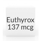 Euthyrox 137mcg Unit Dose Tablet- 30ct Blister Pack