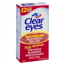 Clear eyes Maximum Redness Relief Lubricant Eye Drops - 1.0 fl oz