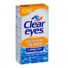 Clear eyes Natural Tears Lubricant - 0.5 fl oz