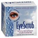 Eye Scrub Sterile Eye Makeup Remover & Eyelid Cleansing Pads - 30ct