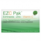 EZC Tapered Pak Immune Support, Echinacea, Zinc and Vitamin C, 28 ct