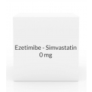 Ezetimibe - Simvastatin 10- 80mg Tablets