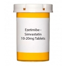 Ezetimibe - Simvastatin 10-20mg Tablets