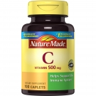 Nature Made Vitamin C 500 mg Caplets 100ct