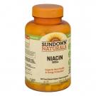 Sundown Naturals Niacin Vitamin Supplement Caplets 500mg 200ct