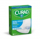 Curad Non-Stick Pads, 8 x 3 in, 8 ct