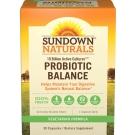 Sundown Naturals Probiotic Balance Capsules 30ct