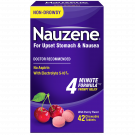 Nauzene Nausea Relief Chewable Tablets, Wild Cherry, 42 Ct