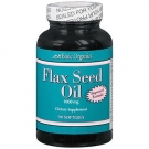 Basic Organics Flax Seed Oil Softgels - 90 ct