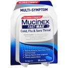Mucinex Maximum Strength Fast-Max Adult Caplets, Cold, Flu & Sore Throat- 20ct