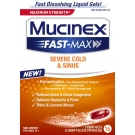 Mucinex Fast-Max Severe Cold & Sinus Liquid Gel- 16ct